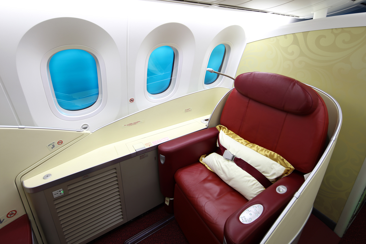 What to Expect on a First Class Flight